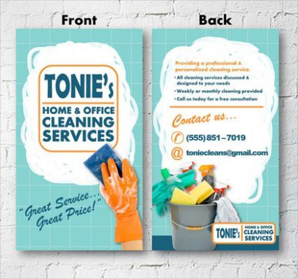 10 House Cleaning Flyer Templates Business Cleaning Business