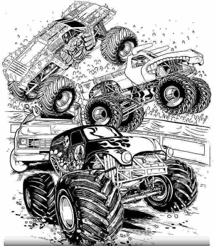 Monster Jam Trucks Coloring Pages In 2015 An Arena Tour Called Moremonsterjam Debuted T In 2020 Monster Truck Coloring Pages Truck Coloring Pages Monster Trucks