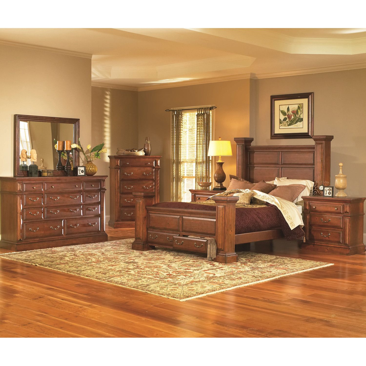 Progressive Furniture Torreon Panel Customizable Bedroom Set