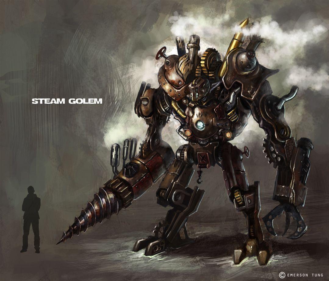 steam punk robot | Steampunk Art, Wear & Werks | Steampunk