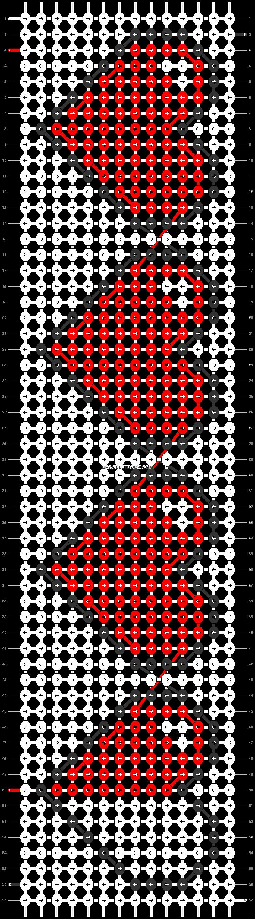 Game Lives Friendship Bracelet Pattern Number #4495  For More Patterns And  Tutorials Visit Our