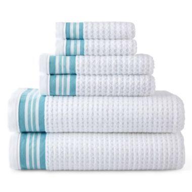 jcp home™ Quick-Dri™ Bath Towels - JCPenney