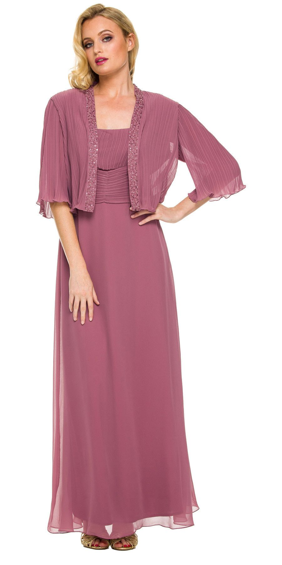 Plus size long dresses for wedding  Mother of Groom Rosewood Ankle Length Dress Plus Size  Wedding