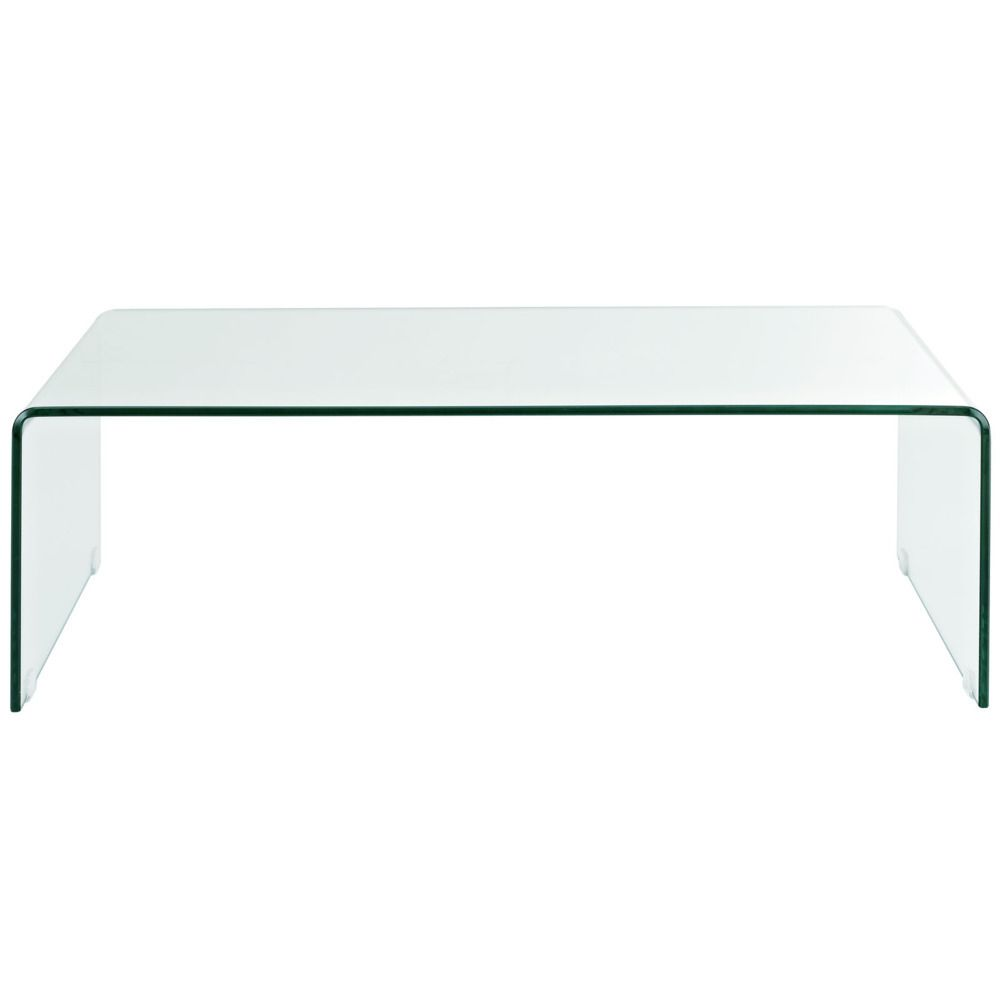Transparent Coffee Table Modern Way 358 00 Domino Com Coffee Table Affordable Coffee Tables Drum Coffee Table