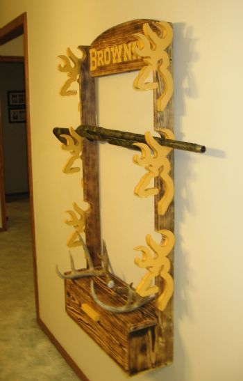 Very Cool Idea Diy Projects In 2019 Rifle Rack Diy