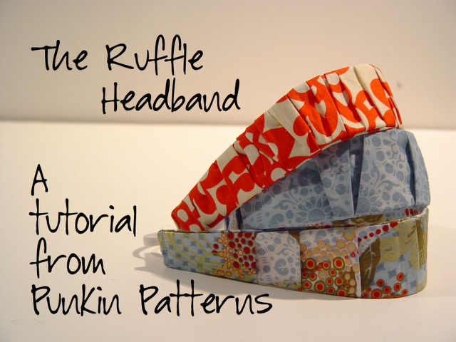 How to make a ruffled hairband