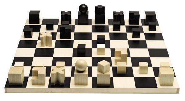 Bauhaus Chessmen Chess Pieces Bauhaus Chess and Chess sets