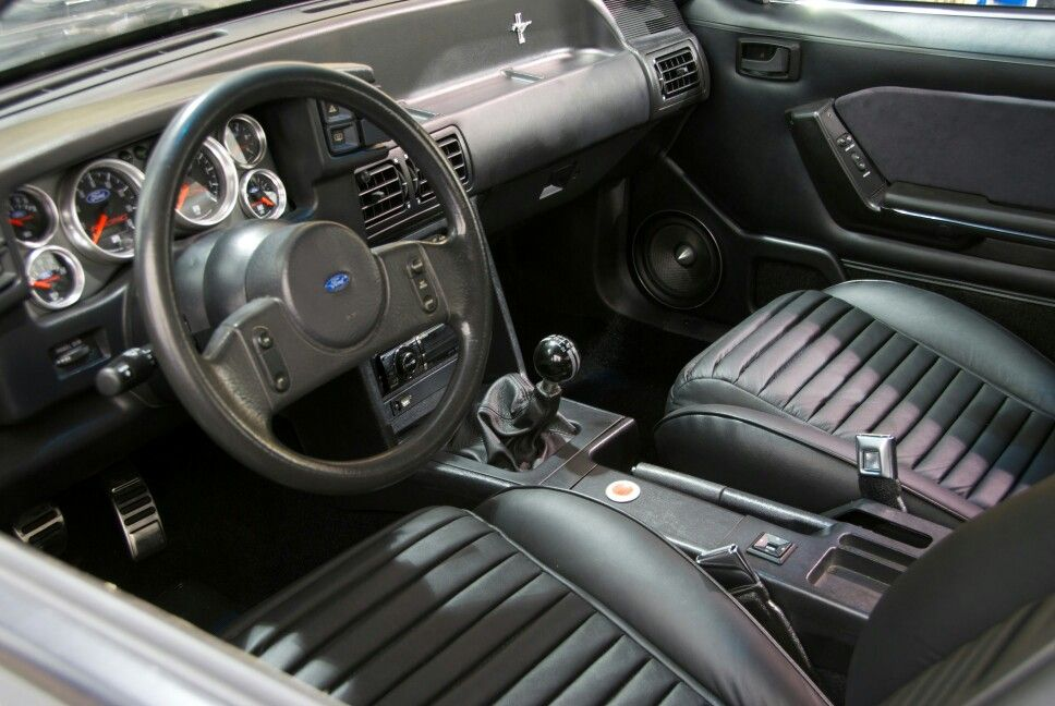 Clean Foxbody Interior Mustang Fox Body Ford Gt American Muscle Cars