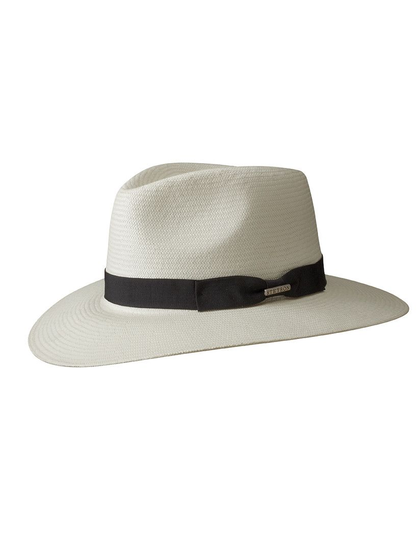 Stetson Tokeen Toyo Traveller Hat Off White Country Attire Uk Mens Summer Hats Hats For Men Mens Hat Wide Brim