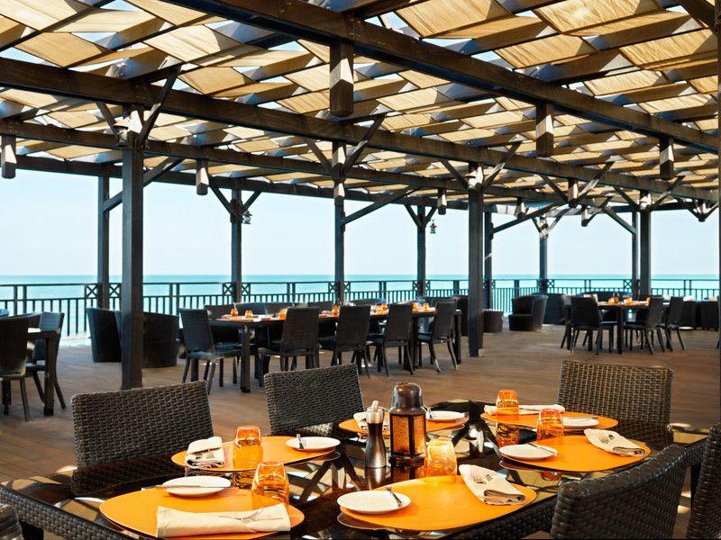 Restaurants And Bars In Baku Jumeirah Beach Hotels Grill Restaurant Restaurant Interior