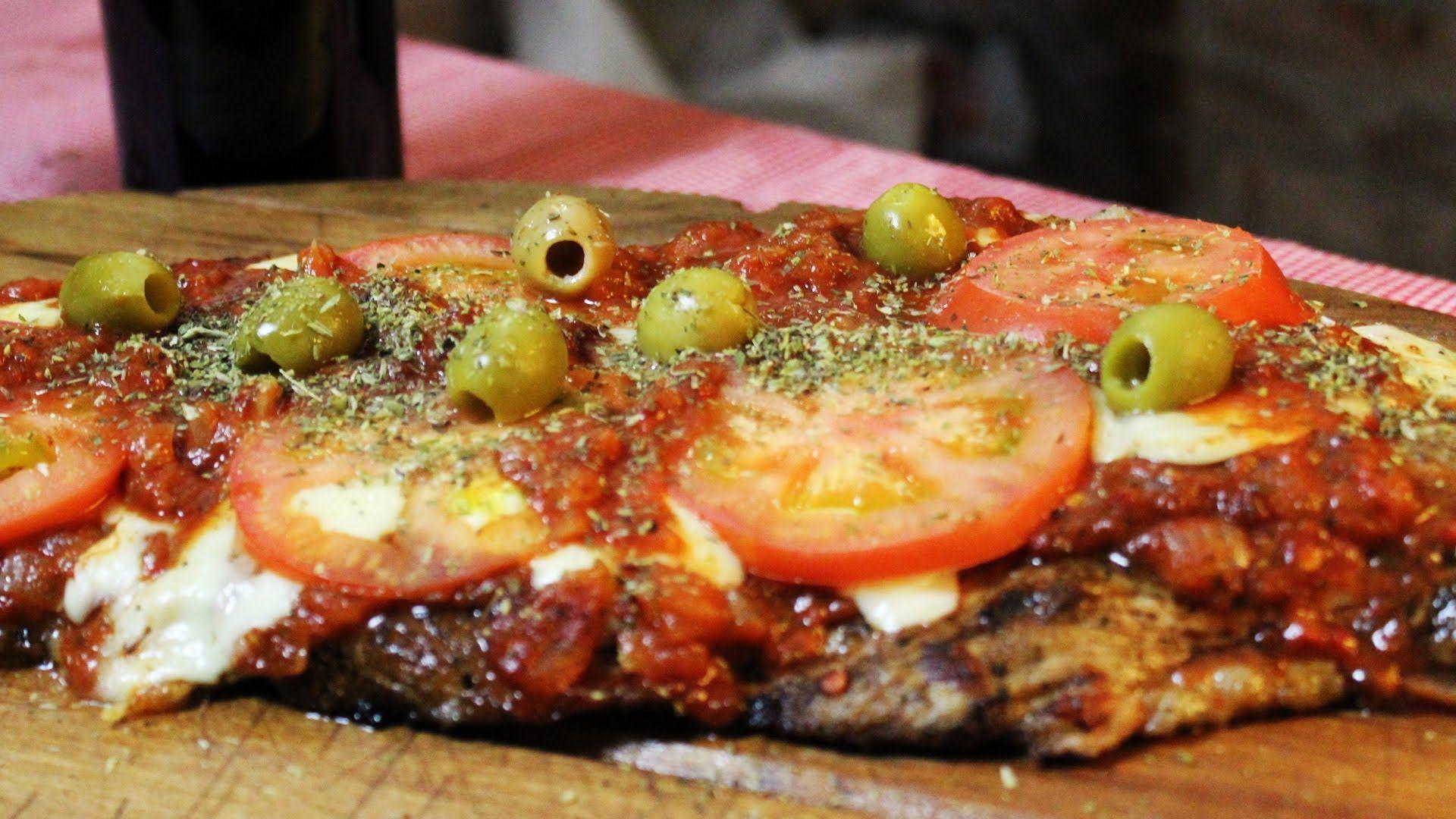 Como Hacer Matambre A La Pizza Napolitana En La Parrilla Locos X El Asado Matambre De Cerdo Matambre Pizza A La Parrilla
