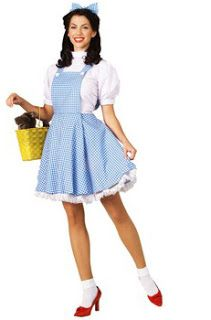 Wizard of Oz Dorothy Costume! Who can forget the plucky Dorothy Gale? The brave girl who never gave up and ultimately defeated the wicked witch.  sc 1 st  Pinterest : dorthy costumes  - Germanpascual.Com