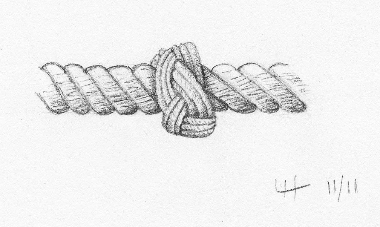 decorative rope sketch google