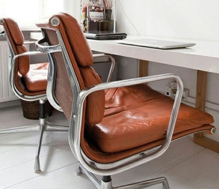 Bureaustoel Zonder Wielen Kopen.Ea 217 Bureaustoel Zonder Wielen Design Chair Furniture En Decor