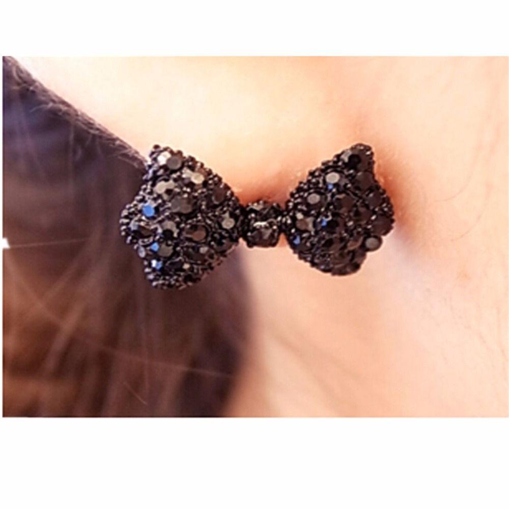 E558 Großhandel 2016 perlas Mädchen Ohrringe Neue Bogen Ohrringe Für Frauen Perle Schmuck Earing Boucle d'oreille Brincos
