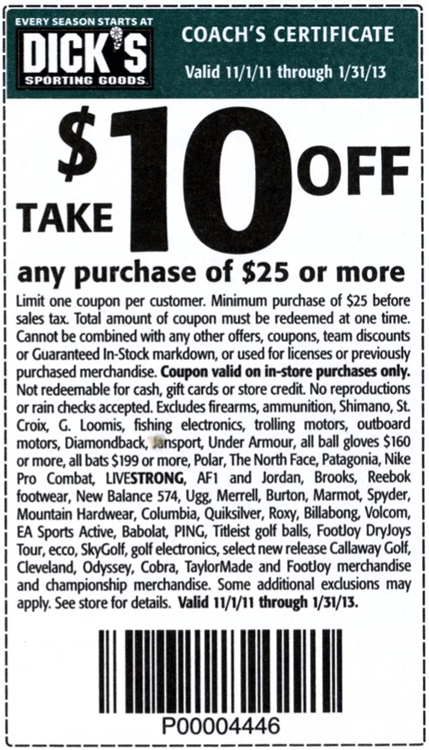 photograph regarding Sport Authority Printable Coupon titled Pin upon discount codes