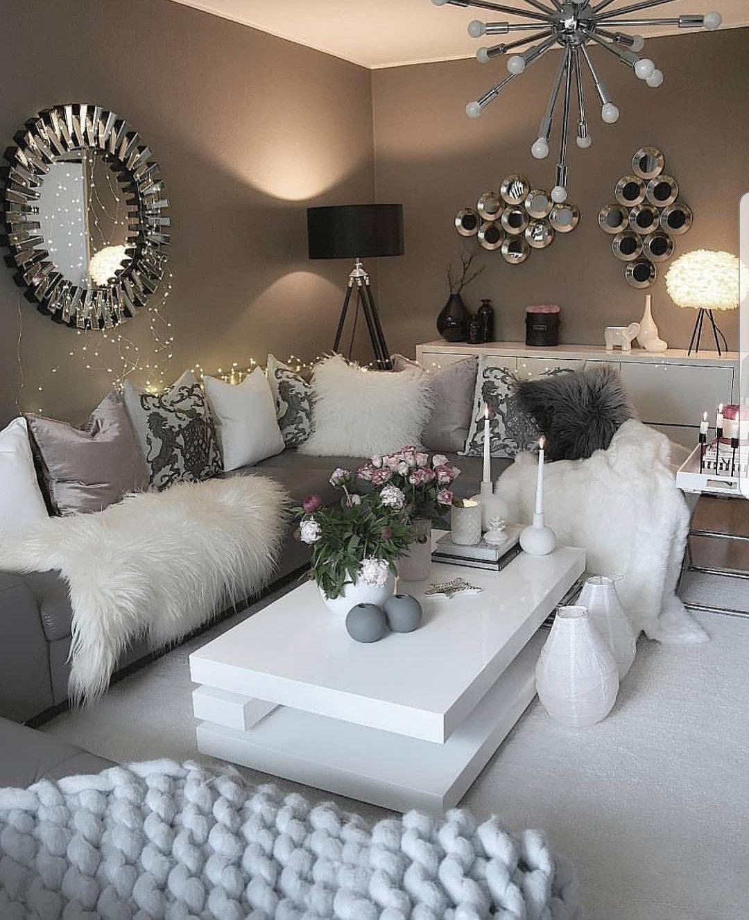 Q wohnen in 2019 stilvolle wohnzimmer for Wohnung farbgestaltung