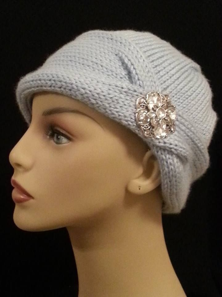 6598ba9e309 Knit Ladies Chemo Cap http   www.ravelry.com patterns
