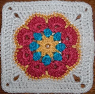 African Granny Square ♥ Free pattern