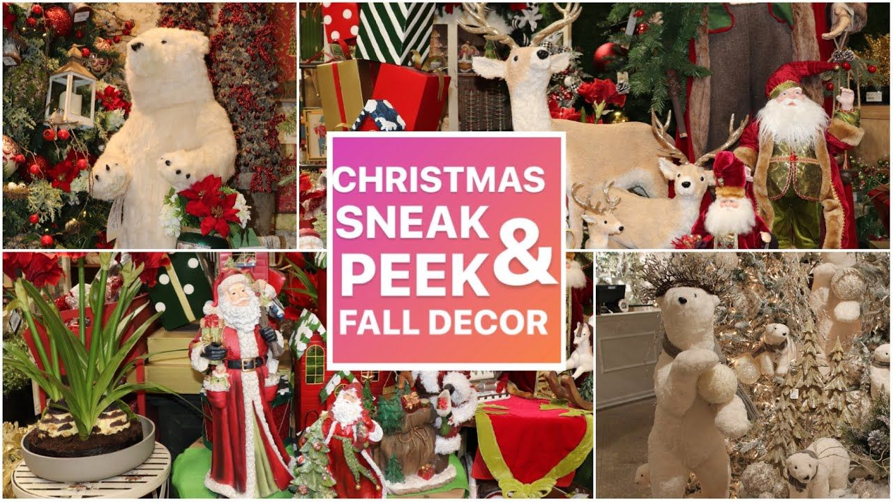 Youtube Christmas Decorations 2020 CHRISTMAS DECORATING 2020 SNEAK PEEK / Last Fall Video Of The