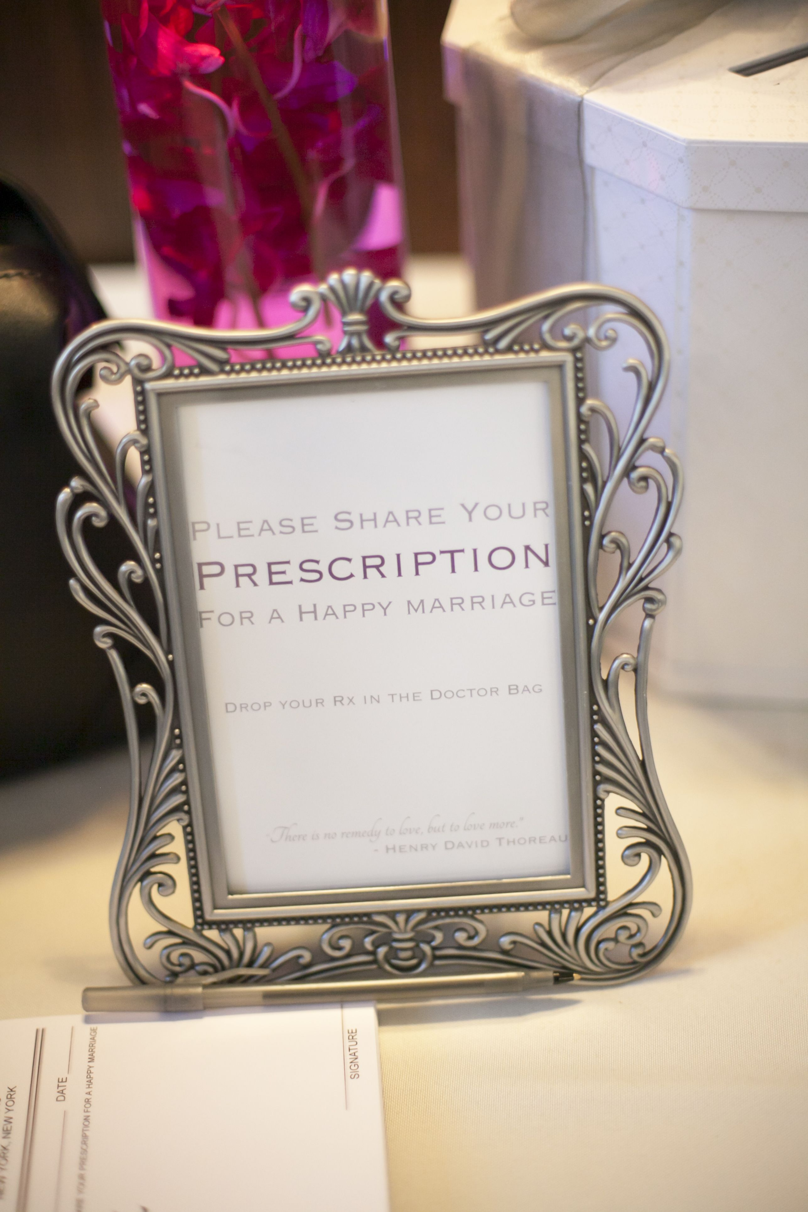 Share Your Prescription for a Happy Marriage since we\'re both PA\'s ...