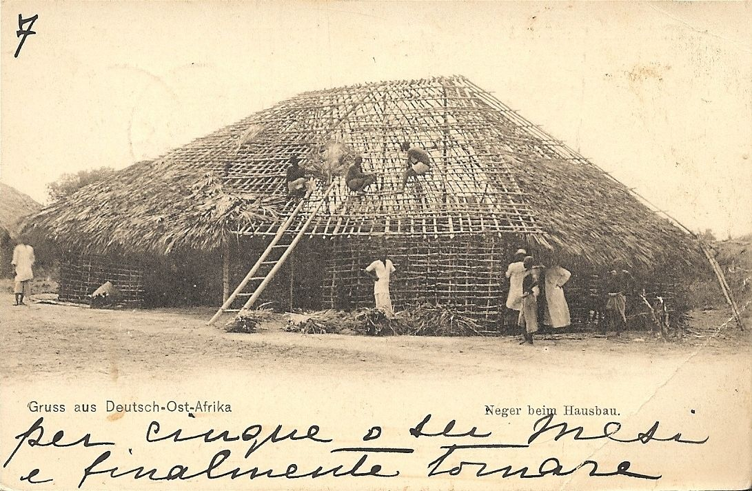 Greetings from german east africa african vernacular architecture greetings from german east africa m4hsunfo Image collections