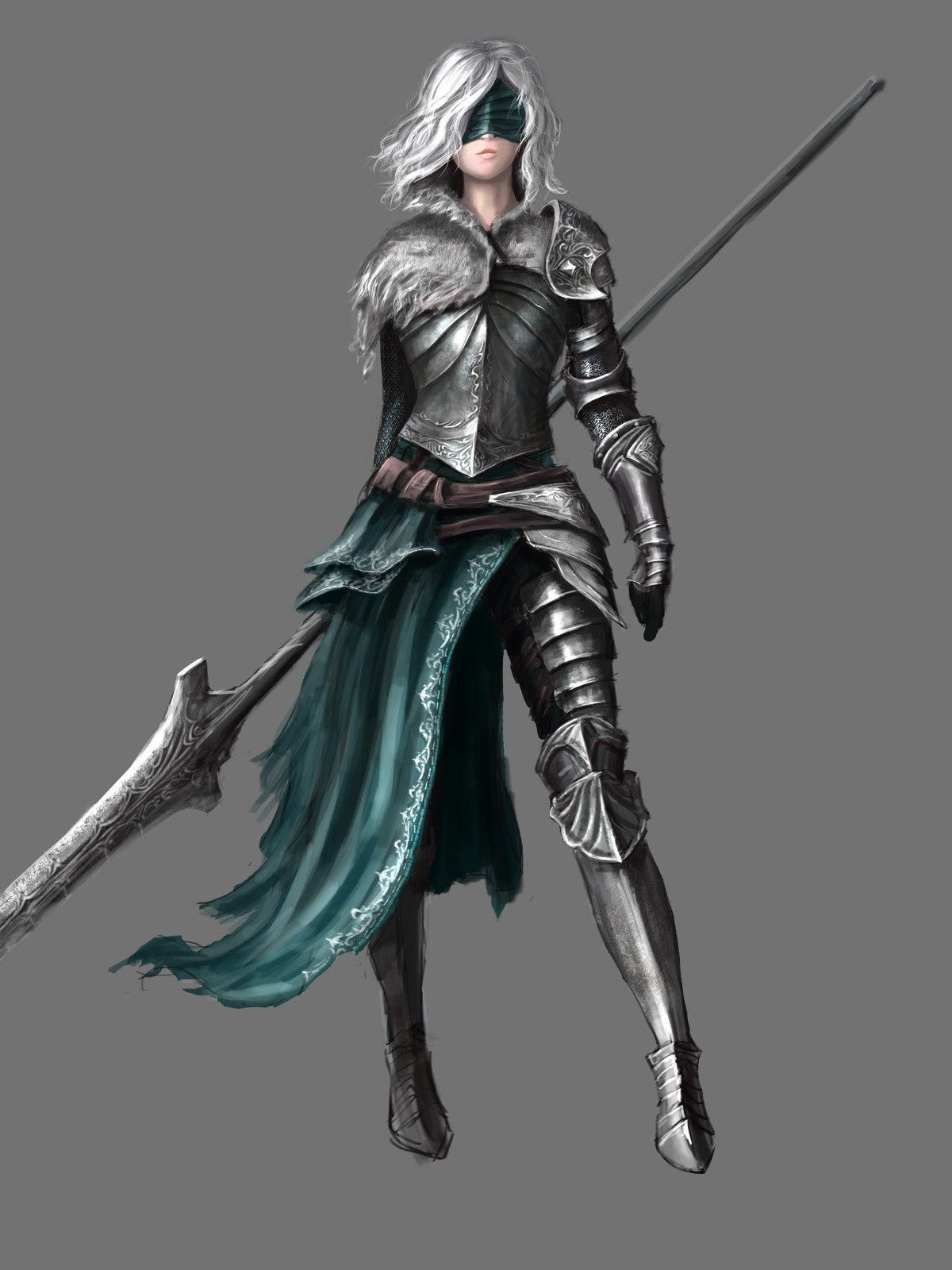 Medieval Fantasy Characters Concept Art