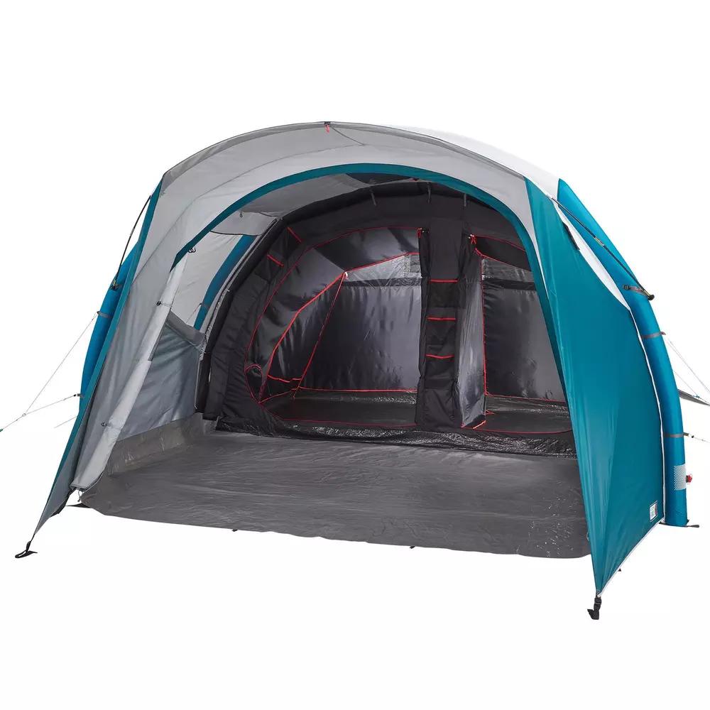 Familienzelt Aufblasbar Air Seconds 5 2 Fresh Black Fur 5 Personen In 2 Kabinen Dieses Aufblasbare Familienzelt Fur 5 Personen So Tent Tent Camping Inflatable
