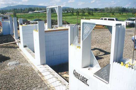 Insulated Concrete Forms (ICF) Construction Detail Photos | At the ...