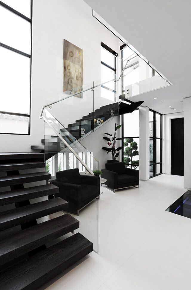 pingl par yv sur dream homes interior and architecture pinterest escaliers et voitures. Black Bedroom Furniture Sets. Home Design Ideas