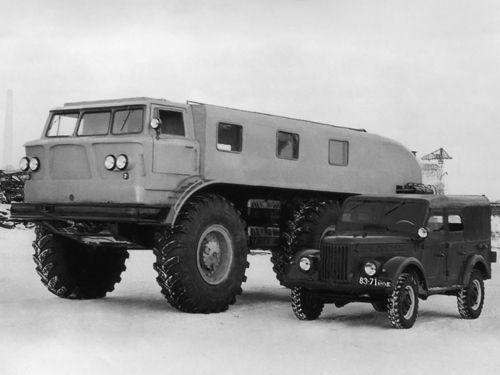 ZIL-E-167 Strange Soviet All Terrain Truck