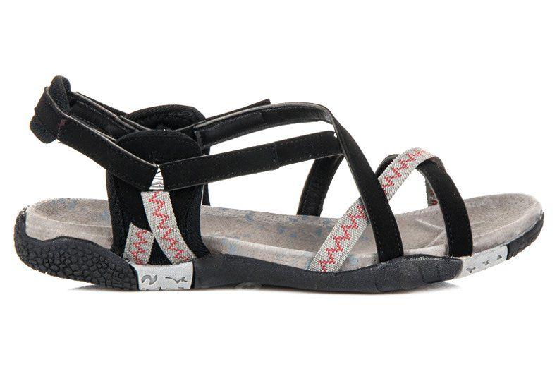 Hasby Sportowe Sandaly Na Rzep Czarne Shoes Sandals Fashion