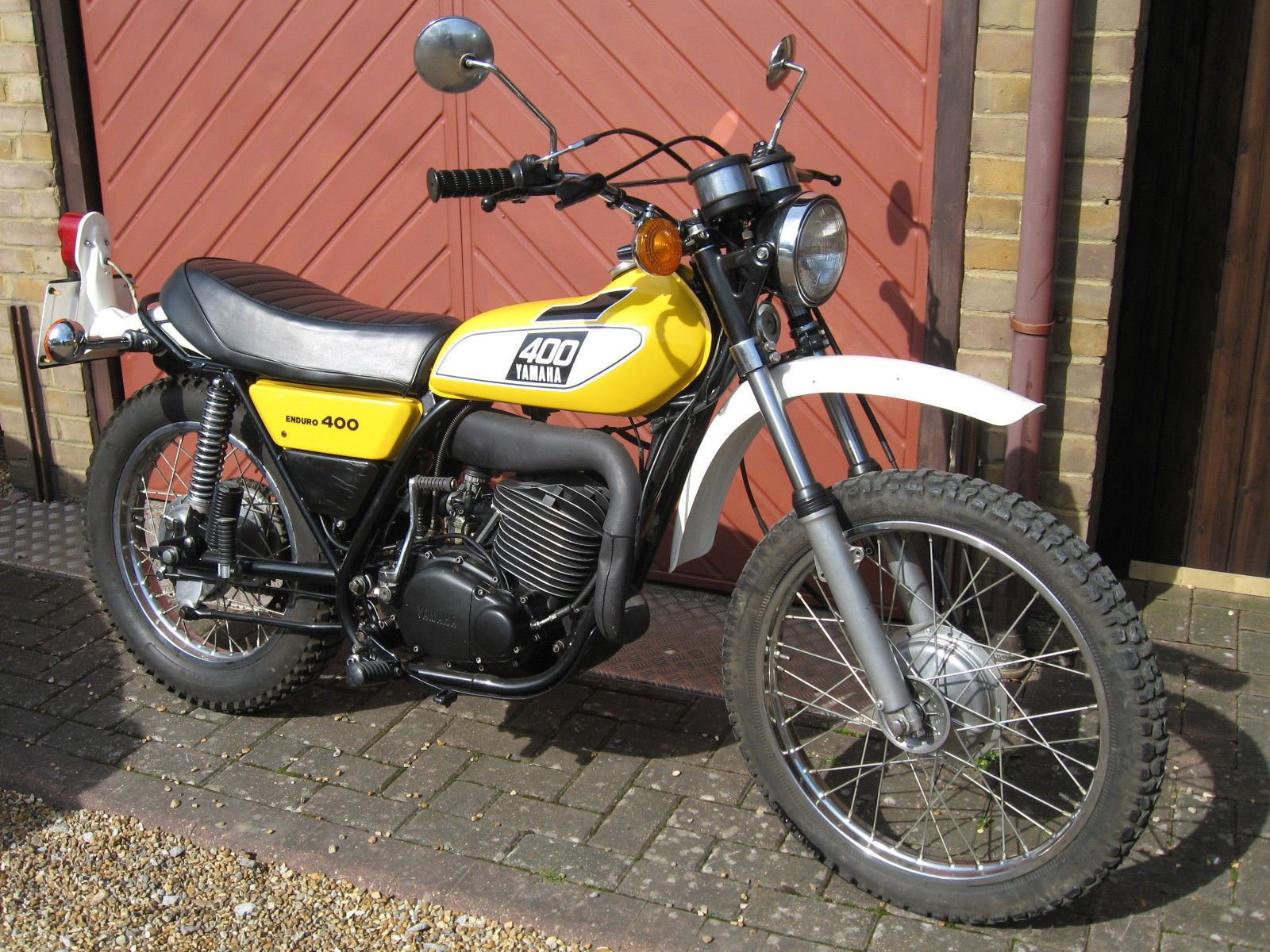 Yamaha dt400 twinshock uk bike with matching numbers classic trail ...