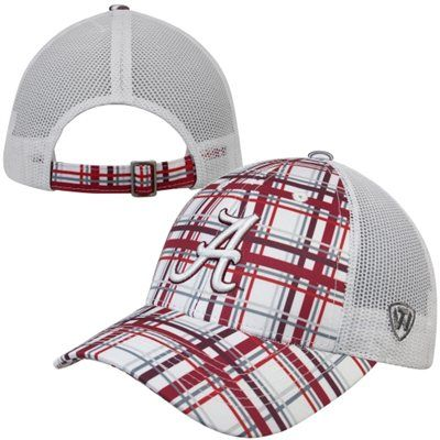 separation shoes a6e30 7a664 ... low price top of the world alabama crimson tide empire plaid adjustable hat  crimson white a5913