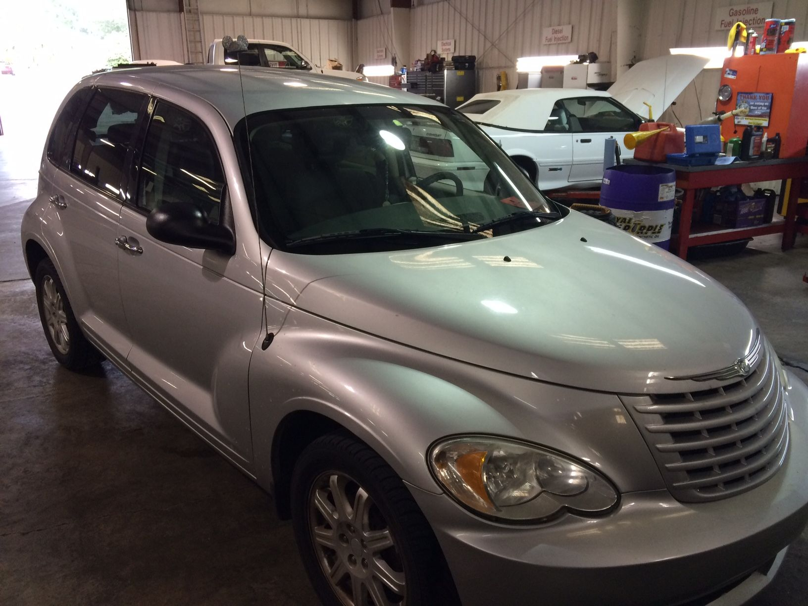 PT Cruiser Part e To discover an AC leak requires in part the