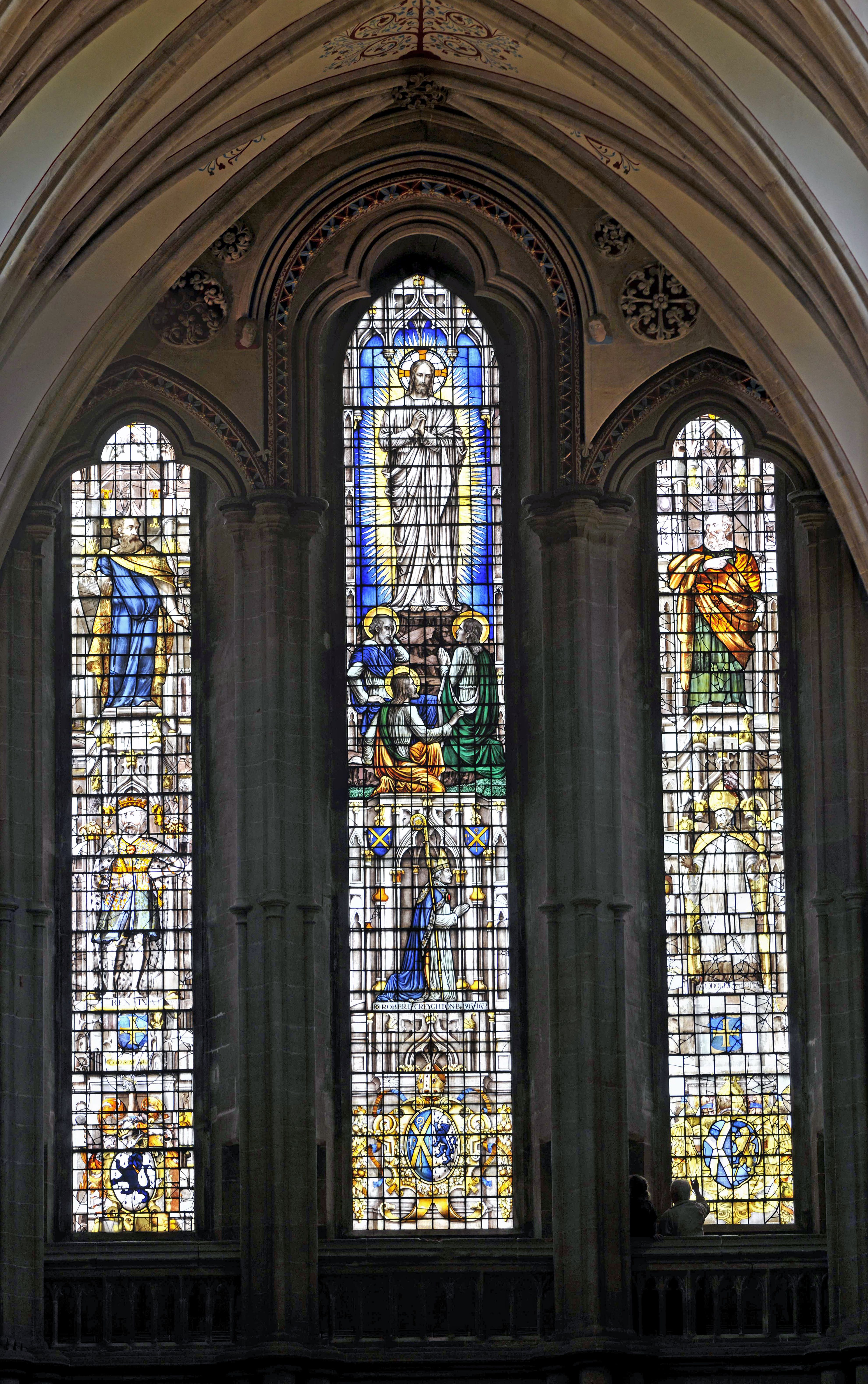 Wells Cathedral Stained Glass Window Mike1242 Photography