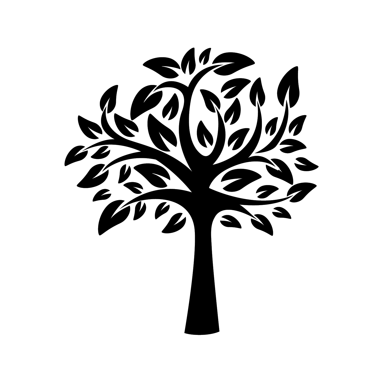 tree of life stencil template reusable stencil with multiple sizes