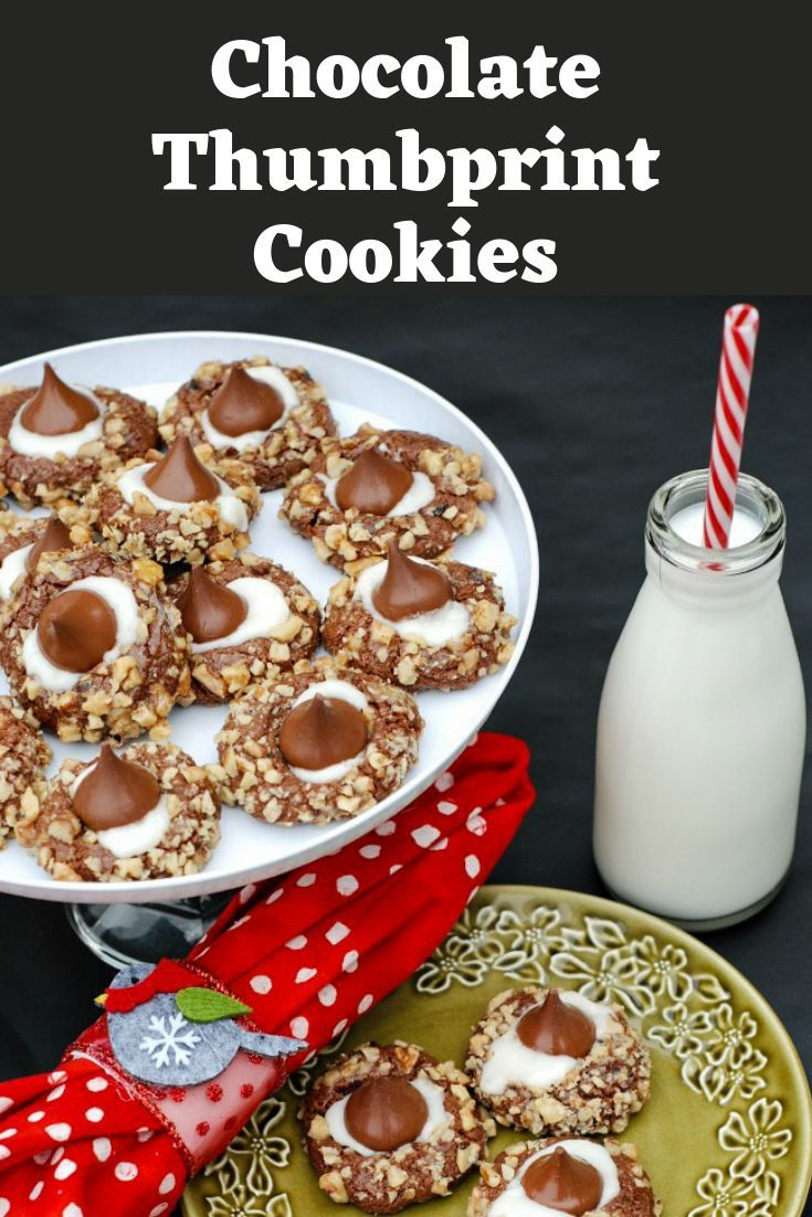 Chocolate cookies are rolled in chopped walnuts and baked These cookies are topped with a vanilla filling and chocolate kiss These cookies are always a hit with friends a...