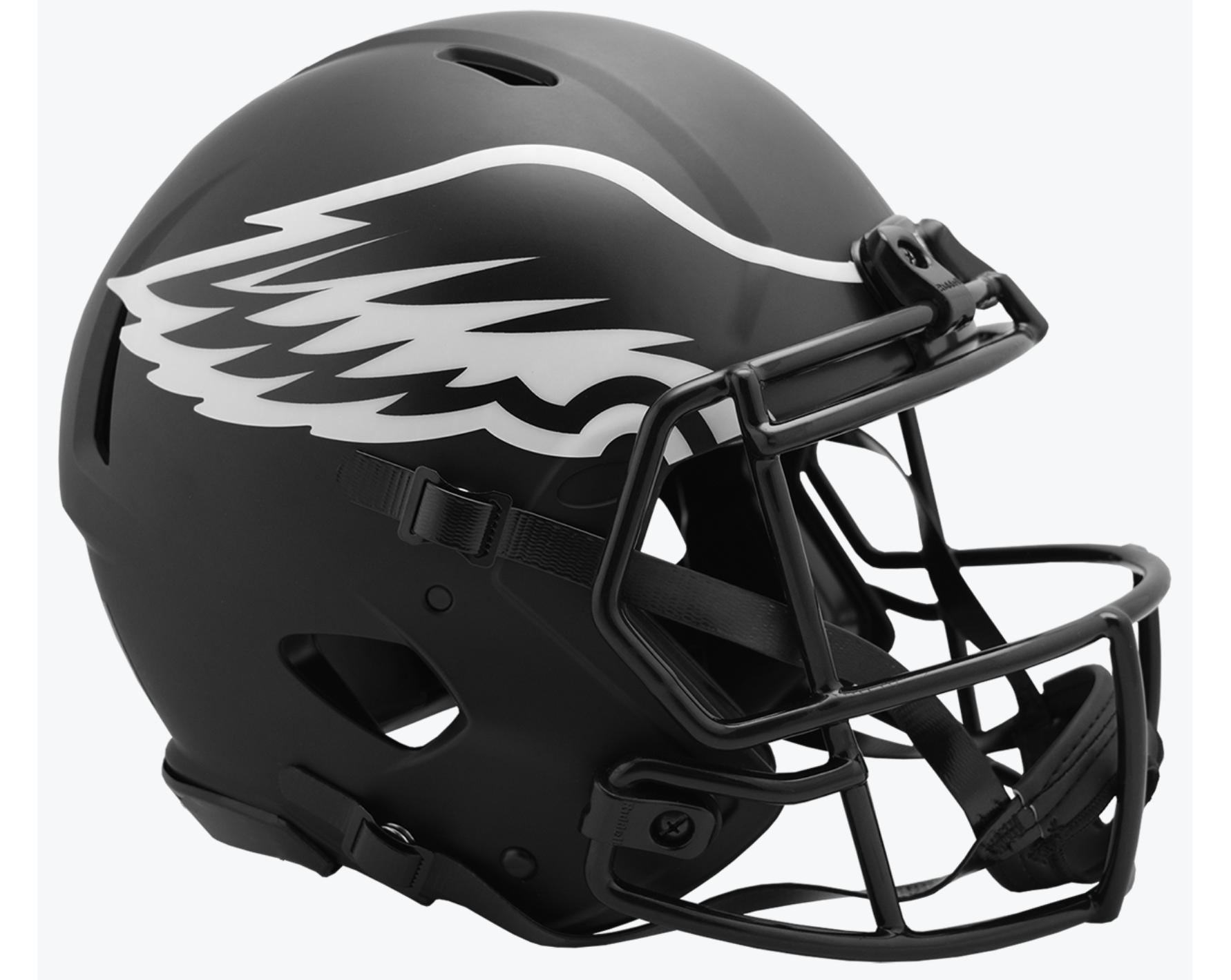 Philadelphia Eagles Special Edition Eclipse Authentic Helmet Football Helmets Football Helmet