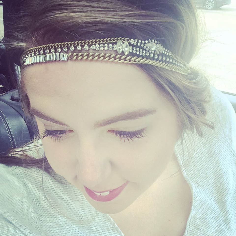 This beauty is a staple in my jewelry collection. With the antique brass and crystals I love how this makes my bad hair day great. Shop this look at the boutique! (Link in bio ) #chloeandisabel #candibyaf #headbands #bohochic #bohostyle #texasblogger #lifestyleblogger