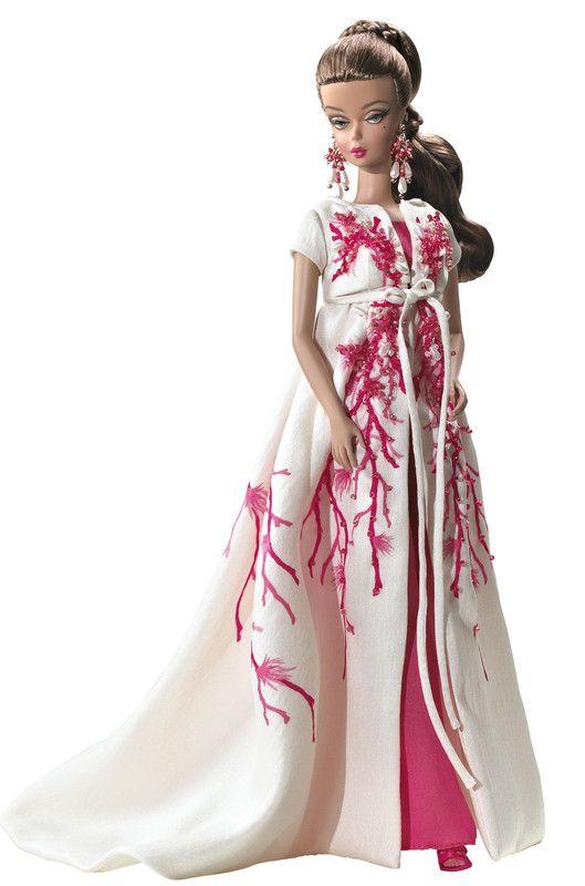 poupée barbie style tenue du soir