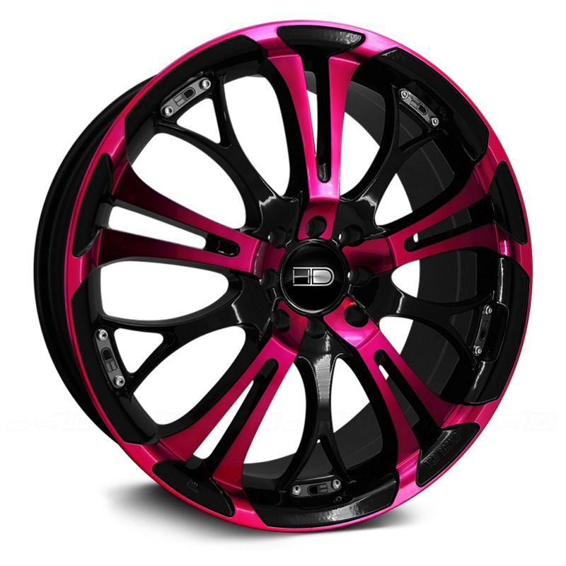 HD® SPINOUT Gloss Black with Pink Face. Want!! For my