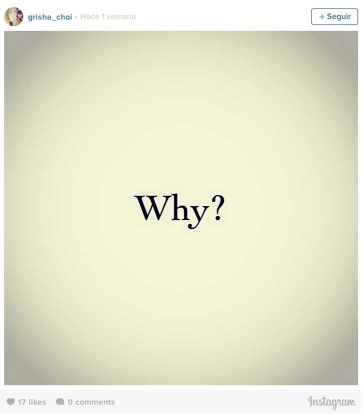 Por qué? :(