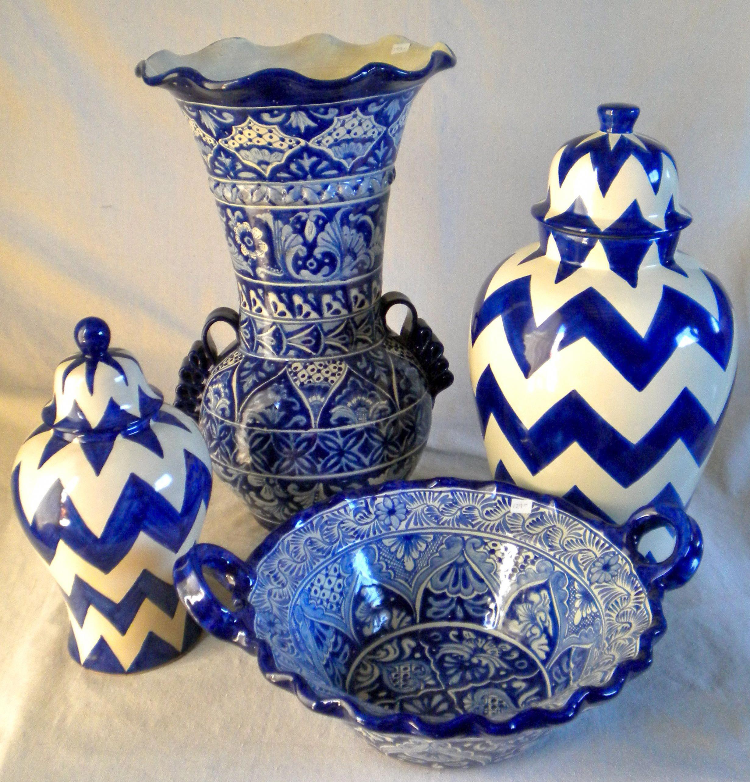 Types of Pottery Talavera poblana, Cosas de mexico