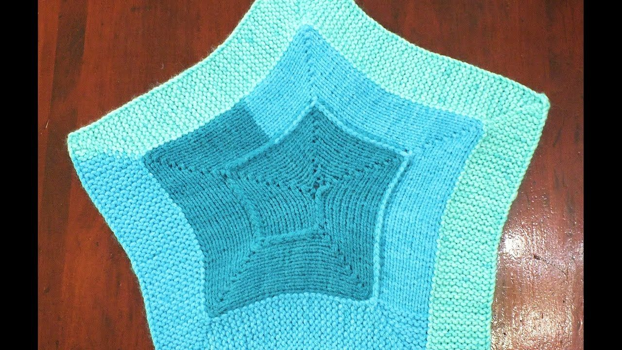 How to Loom Knit a 10 Stitch Star Blanket | Crafts: Loom | Pinterest ...