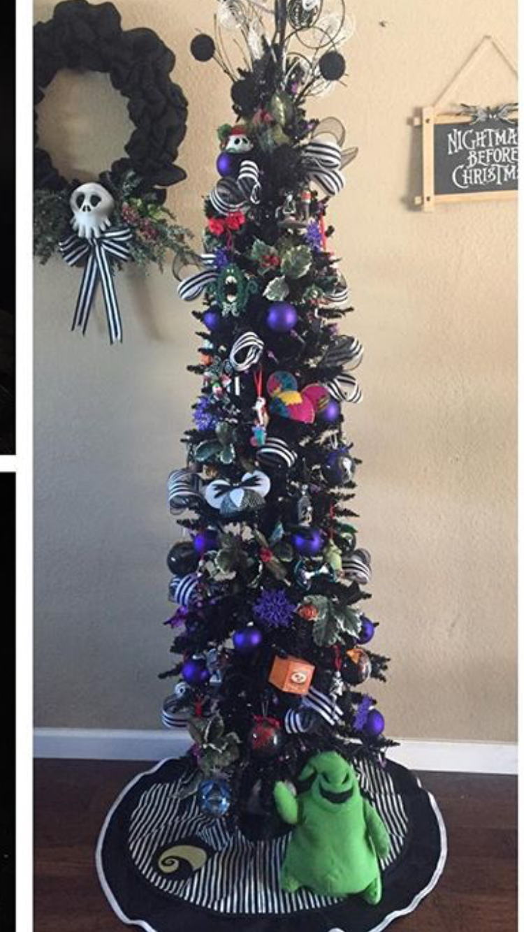 Nightmare Before Christmas Tree | Nightmare Before Christmas in 2018 ...