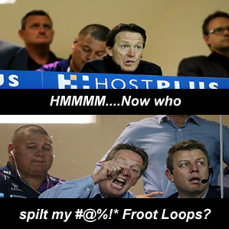 Craig Bellamy Frustrated Nrl Coach Funny Meme Nrl Nrl Memes Frustration
