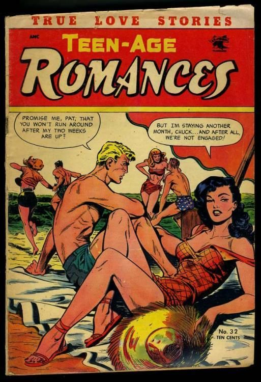 TEEN AGE ROMANCES #32 [1953] SCARCE | eBay