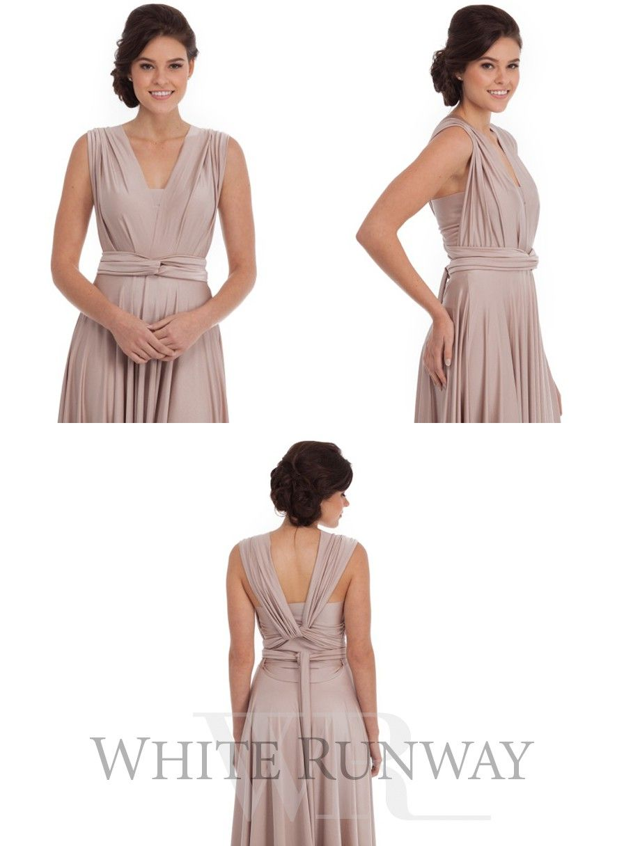 Goddess By Nature Bandeaus in 2019   Dresses, Infinity dress
