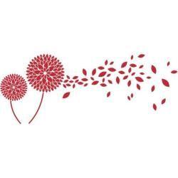 Wandtattoo Blumenblätter, BlüteWayfair.de #flurdekoration